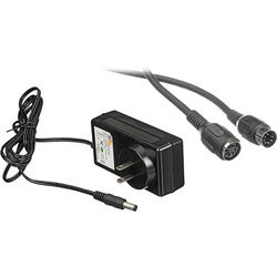 Bescor 20' Extension Cord and PS-260 AC Power Supply for MP-101 Pan Head Remote Control