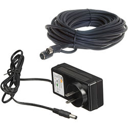 Bescor 50' Extension Cord and PS-260 AC Power Supply for MP-101 Pan Head Remote Control