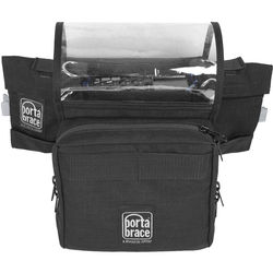 Porta Brace Carrying Case for Zoom F8 Audio Recorder (Black)