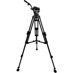Cartoni Focus 8 Fluid Head with Sliding Plate & APTP2 Tripod (75mm)