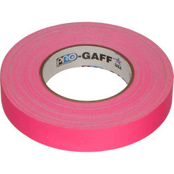 "Visual Departures Gaffer Tape (Fluorescent Pink, 1"" x 50 Yards)"