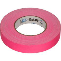 "Visual Departures Gaffer Tape (Fluorescent Pink, 1"" x 50 Yards)"