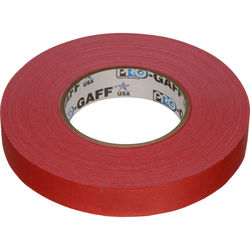 "Visual Departures Gaffer Tape - 1"" x 55 Yards (Red)"