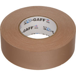 "Visual Departures Gaffer Tape - 2"" x 55 Yards (Tan)"