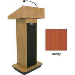 AmpliVox Sound Systems Executive Sound Column Lectern (Cherry)
