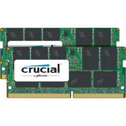 Crucial 32GB DDR4 2400 MHz SO-DIMM Memory Kit (2 x 16GB)