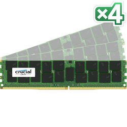 Crucial 64GB DDR4 2400 MHz RDIMM Memory Kit (4 x 16GB)