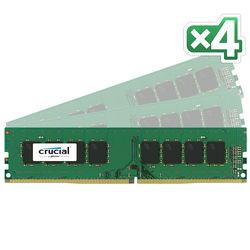 Crucial 64GB DDR4 2133 MHz UDIMM Memory Kit (4 x 16GB)