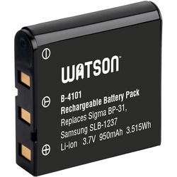 Watson BP-31 / SLB-1237 / EU-94 Lithium-Ion Battery Pack (3.7V, 950mAh)