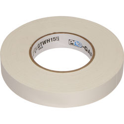"""Visual Departures 1"""" Wide Gaffer Tape (55 yards, White)"""