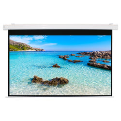 """HamiltonBuhl HBS7296 72 x 96"""" Electric Projection Screen"""