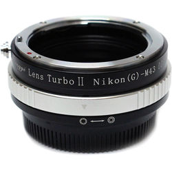 Mitakon Zhongyi Nikon F Mount G Lens to Micro Four Thirds Camera Lens Turbo Adapter Mark II