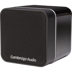 Cambridge Audio Minx Min 12 Bookshelf Speaker (Black)
