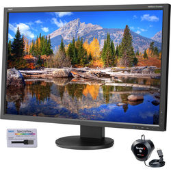 """NEC EA305WMI-BK-SV 30"""" Widescreen LED Backlit IPS Monitor with SpectraViewII"""