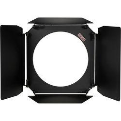 Mole-Richardson 4-Way 4-Leaf Barndoor for 400W Studio JuniorLED Fresnel