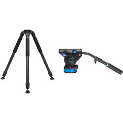 Induro ALLOY 8M Video Tripod Kit with Benro S8 Head (100mm Bowl)