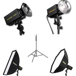 Novatron M300 / M500 2-Monolight Kit with 2 Softboxes