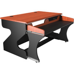 Zaor Miza M Modular Studio Desk (Black Cherry)