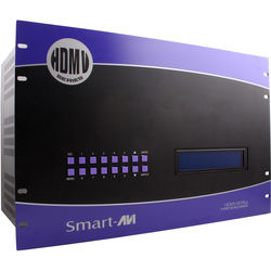 Smart-AVI 9-Port HDMI Real-Time Multiviewer and USB KVM Switch