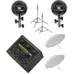 Novatron N2650KIT Head Fun Kit with 3-Way & 1 Standard Head (120 VAC)