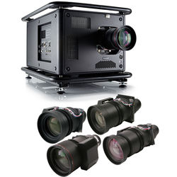 Barco HDX-W20 FLEX 20,000-Lumen WUXGA DLP Projector Touring Kit with Five Zoom Lenses