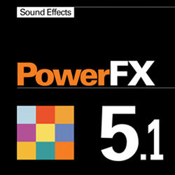 Sound Ideas PowerFX - Sound Effects Library (Electronic Download)