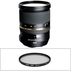 Tamron SP 24-70mm f/2.8 Di VC USD Lens and Filter Kit for Canon EF