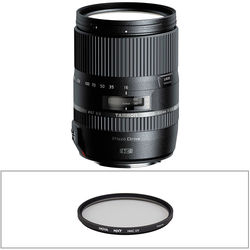 Tamron 16-300mm f/3.5-6.3 Di II VC PZD MACRO Lens and Filter Kit for Nikon F