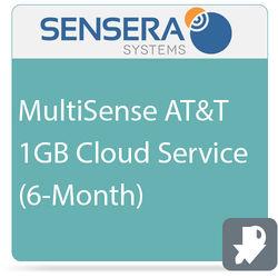Sensera MultiSense AT&T 1GB Cloud Service (6-Month)