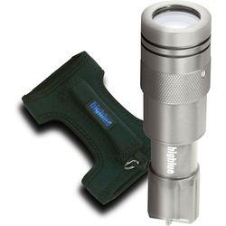 Bigblue Silver CF450 LED Dive Light with Neoprene Goodman-Style Glove
