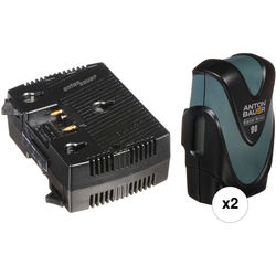 Anton Bauer Dual Digital 90 with TWIN Charger Kit