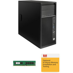 HP Z240 Series L9K18UT Turnkey Workstation with 8GB RAM