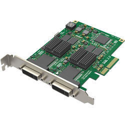 Magewell PC-200-XE-DVI HD DVI Capture Card with Two DVI Inputs