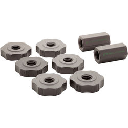 9.SOLUTIONS Mini Rigging Rod Set Nuts