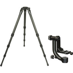 Gitzo GT3542LS Series 3 Carbon Fiber Tripod with Wimberley WH-200 II Gimbal Head