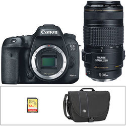 Canon EOS 7D Mark II DSLR Camera Kit with 70-300mm Lens