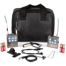 Lectrosonics Lectrosonics L Series ZS-LRLT Camera-Mount Wireless Omni Lavalier Microphone System (B1: 537 to 607 MHz)