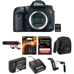 Canon EOS 7D Mark II DSLR Camera Body with Video Kit