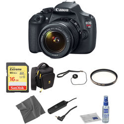 Canon EOS Rebel T5 DSLR Camera with 18-55mm Lens Basic Kit