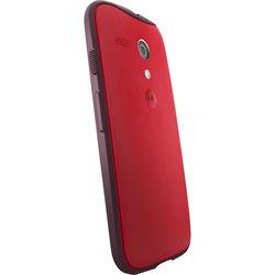 Motorola Grip Shells for Moto G 1st Gen (Red/Dark Red)