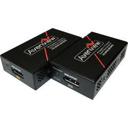 Avenview 4K DisplayPort Extender Set over Single SC Fiber Optic Cable