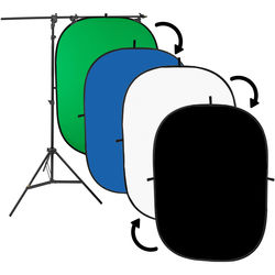 Angler 5x7' Collapsible Background Kit