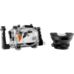 Nimar Underwater Dive Housing for Panasonic DMC-GH4 with Lumix G X 12-35mm Dome Port
