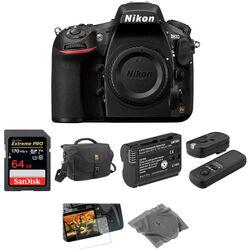 Nikon D810 DLSR Camera Body Basic Kit