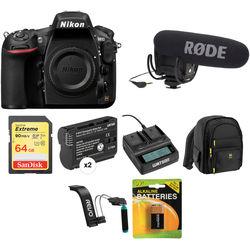 Nikon D810 DSLR Camera Body Video Kit