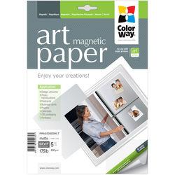 "ColorWay ART Matte Magnetic Photo Paper (8.5 x 11"", 5 Sheets)"