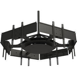 """Peerless-AV Multi-Display Ceiling Mount with Six Telescoping Arms for 37 to 42"""" Displays"""