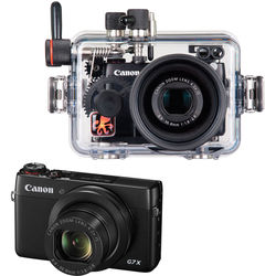 Ikelite Underwater Housing and Canon PowerShot G7 X Digital Camera Kit