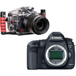Ikelite Underwater Housing with TTL Circuitry & Canon EOS 5D Mark III Camera Body Kit