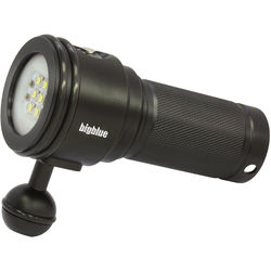 Bigblue VL3500P Video LED Dive Light (Black)